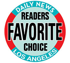 Yearly award from Los Angeles Daily News